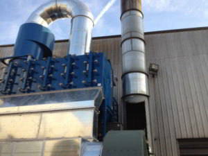 Industrial sheet metal services in Ohio