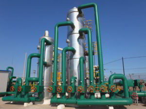 Green industrial piping