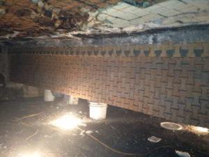 Building Foundation Repair with Concrete
