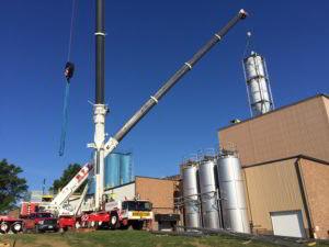 Crane rentals in Ohio