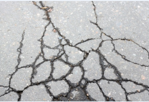 Cracked Driveways