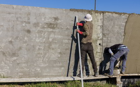 Concrete Walls in Iraq